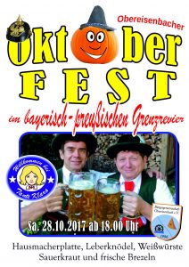 Oktoberfest im bayerisch-preußischen Grenzrevier @ Bei Tante Klara | Sankt Julian | Rheinland-Pfalz | Deutschland