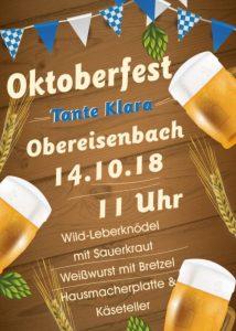 Oktoberfest @ Obereisenbach